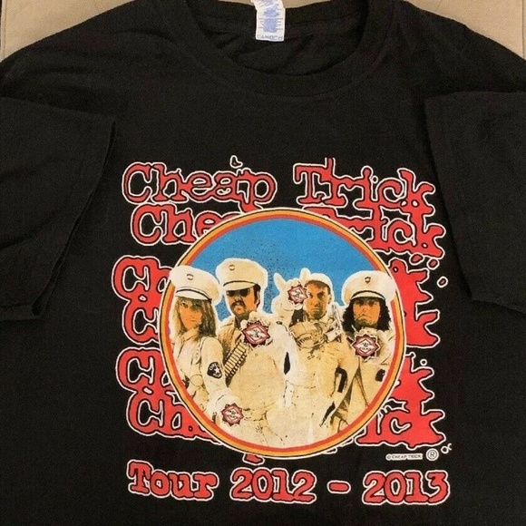 Vintage Other - Cheap Trick T Shirt Large Dream Police Tour